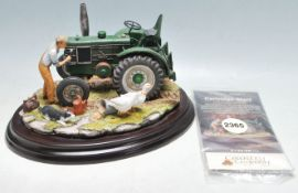 COUNTRY LEGACY - 02365 - FIELD MARSHALL CARTRIDGE START - TRACTOR STATUE