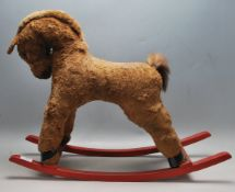 LATE 20TH CENTURY VINTAGE CHILDRENS ROCKING HORSE