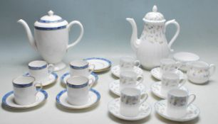 COLLECTION OF ROYAL WORCESTER FORGET ME NOT AND