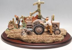 COUNTRY ARTISTS - END OF THE RIDGE - TRACTOR STATUE