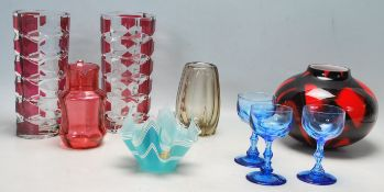 RETRO VINTAGE STUDIO ART GLASS