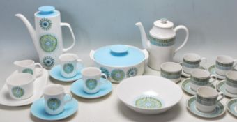 RETRO VINTAGE LATE 20TH CENTURY DINNER SERVICE BY MIDWINTER AND JG MEAKIN STUDIO.