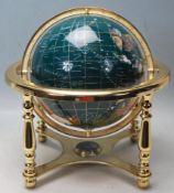 20TH CENTURY DESKTOP GLOBE