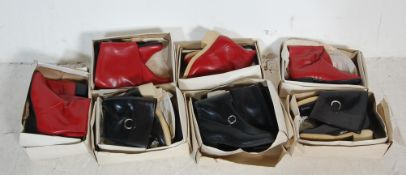 COLLECTION OF VINTAGE LATE 20TH CENTURY LADIES RUBBER WELLINGTON BOOTS