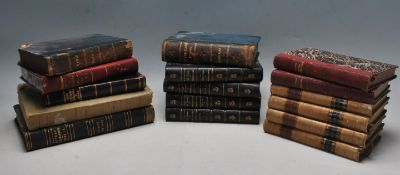 COLLECTION OF FRENCH AND ITALIAN 19TH CENTURY HARD