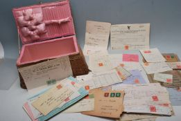 COLLECTION OF ASSORTED BRITISH POSTAL ITEMS