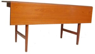 VINTAGE 20TH CENTURY TEAK WOOD DANISH DROP LEAF DI