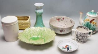 EARLY 20TH CENTURY CERAMIC TABLE WARE