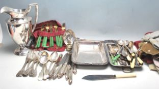 20TH CENTURY AMERICAN SILVER PLATED TABLE WARE