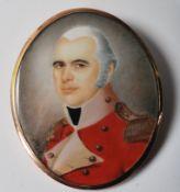 GEORGIAN PAUL FREDERICK DE CASELLI PORTRAIT MINIAT