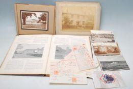 ABBOTTS ILLUSTRATED COUNTIES 1896 & OTHER EPHEMERA