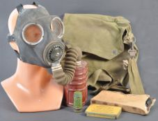 WWII SECOND WORLD WAR ' HOME FRONT ' GAS MASK & FIRST AID ITEMS