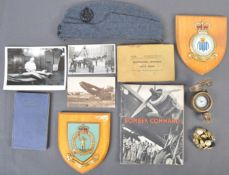 COLLECTION OF ASSORTED WWII RAF RELATED ITEMS