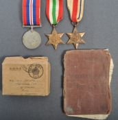 WWII SECOND WORLD WAR MEDAL GROUP - C COMPANY 2ND PARACHUTE BAT