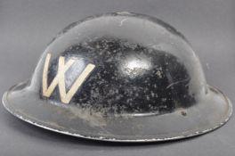 ORIGINAL WWII SECOND WORLD WAR ARP WARDEN'S HELMET