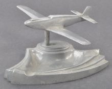 WWII SECOND WORLD WAR RELATED ALUMINIUM MUSTANG ASHTRAY