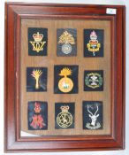 COLLECTION OF ASSORTED BRITISH ARMY CLOTH PATCHES