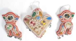 COLLECTION OF IROQUOIS BEADWORK ITEMS