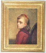 PIETER VAN HAVERMOET ( 1834-1897 ) OIL ON BOARD PAINTING