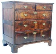 ANTIQUE 17TH CENTURY QUEEN ANNE WALNUT CHEST OF DRAWERS