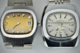 Montine International Wristwatch & Midas 17 Rubis Wristwatch