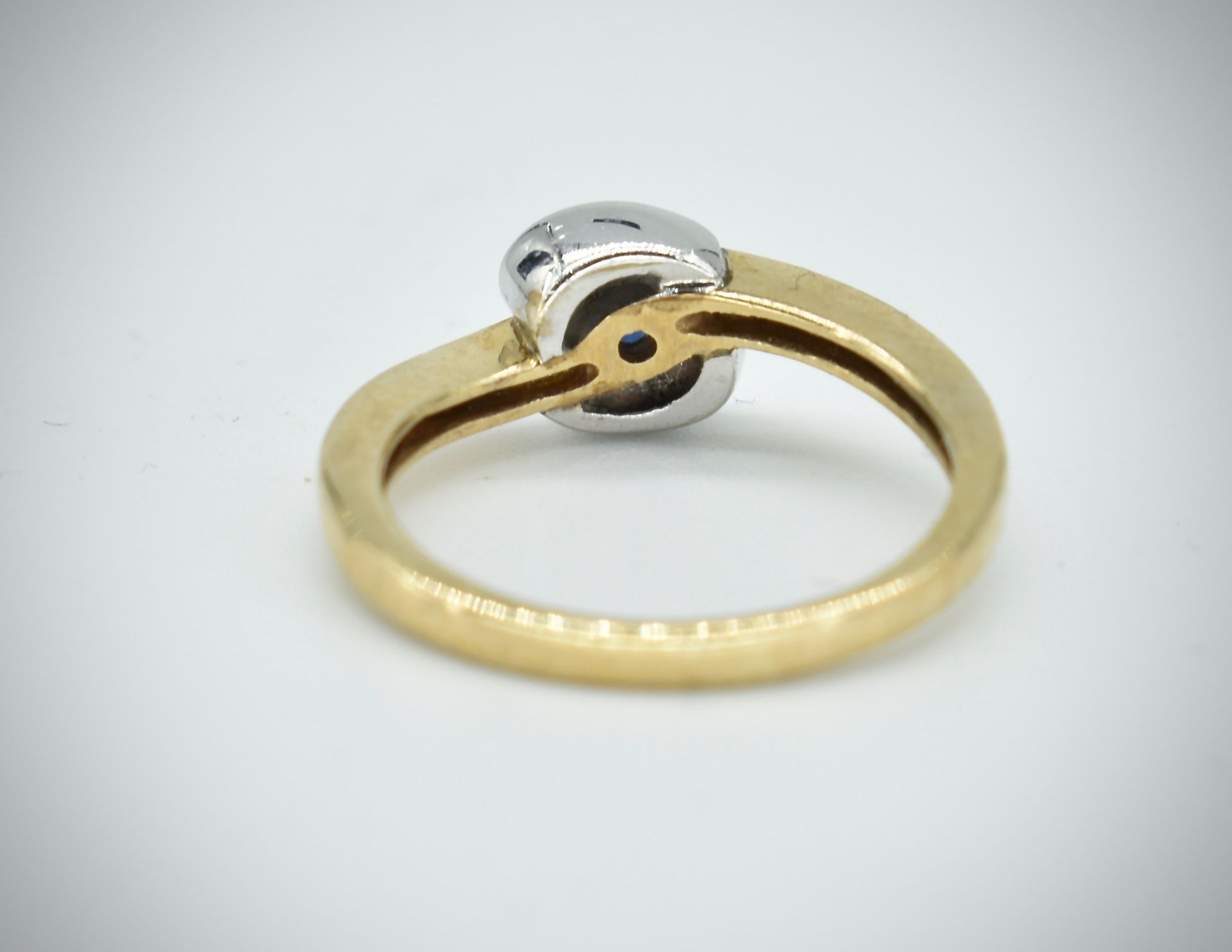 9ct Gold & Sapphire Ring - Image 4 of 5