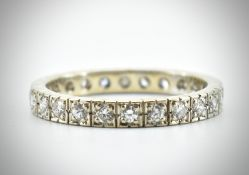 18ct Gold & Diamond Eternity Ring
