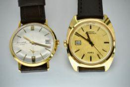 Mid Century Retro Accurist 21 Jewels Wristwatch & Timex Wristwatch