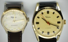 Two Mid Century Trafalgar Wristwatches