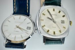 Mid Century Sekonda British / Russian USSR Gents Wristwatches x 2