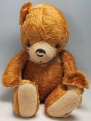 VINTAGE 1950S ENGLISH TEDDY BEAR - BROWN