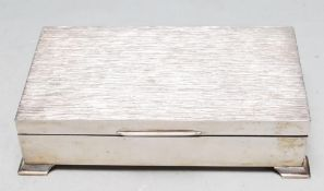 1970'S HARMAN BROTHERS BARK EFFECT CIGARETTE BOX