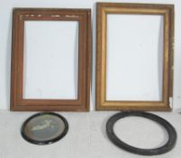 COLLECTION OF 4 VINTAGE PICTURE FRAMES