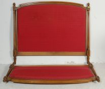20TH CENTURY LOUIS XVTH DOUBLE BED FRAME