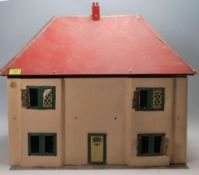 1950'S RETRO TOY DOLLHOUSE WITH HINGED FRONT