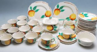 RETRO VINTAGE ART DECO EARLY 20TH CENTURY MYOTT TEA SERVICE