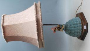 VINTAGE 20TH CENTURY CRINOLINE LADY TABLE DESK LAMP