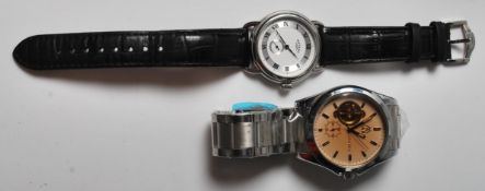 GENTLEMAN'S ROTARY WRIST WATCH & MABZ LONDON WATCH