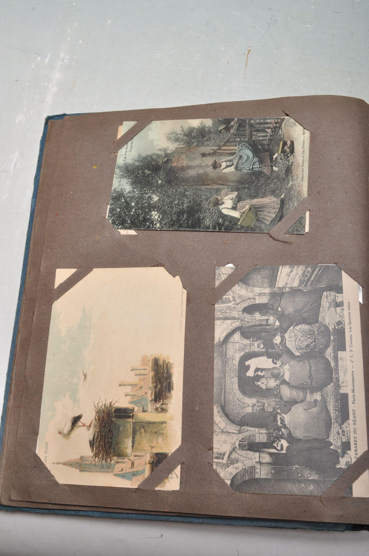 ALBUM OF FOREIGN POSTCARDS - ALL CIRCA WW1 PERIOD - Bild 10 aus 23