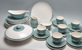 MID 20TH CENTURY ROYAL DOULTON SPINDRIFT DINNER SERVICE / TEA SET