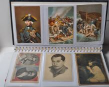 POSTCARDS - COLLECTION OF NELSON INTEREST, AVIATION, WWII ETC