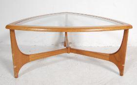 MID CENTURY STATEROOM - STONEHILL TEAK COFFEE TABLE