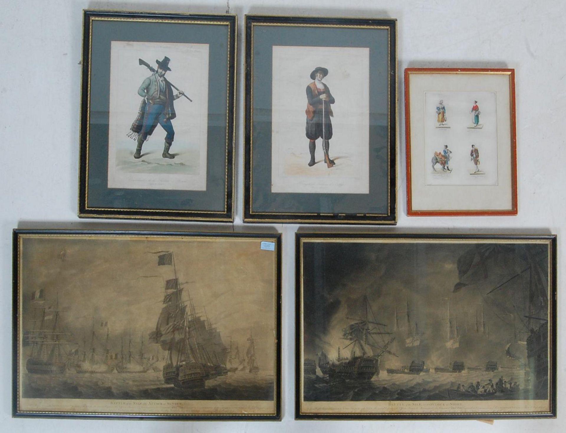 ANTIQUE 19TH CENTURY LITHOGRAPHS PEINTS / ETCHING PLATES