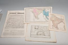 COLLECTION OF ANTIQUE MAPS OF INDIA & SURROUNDS