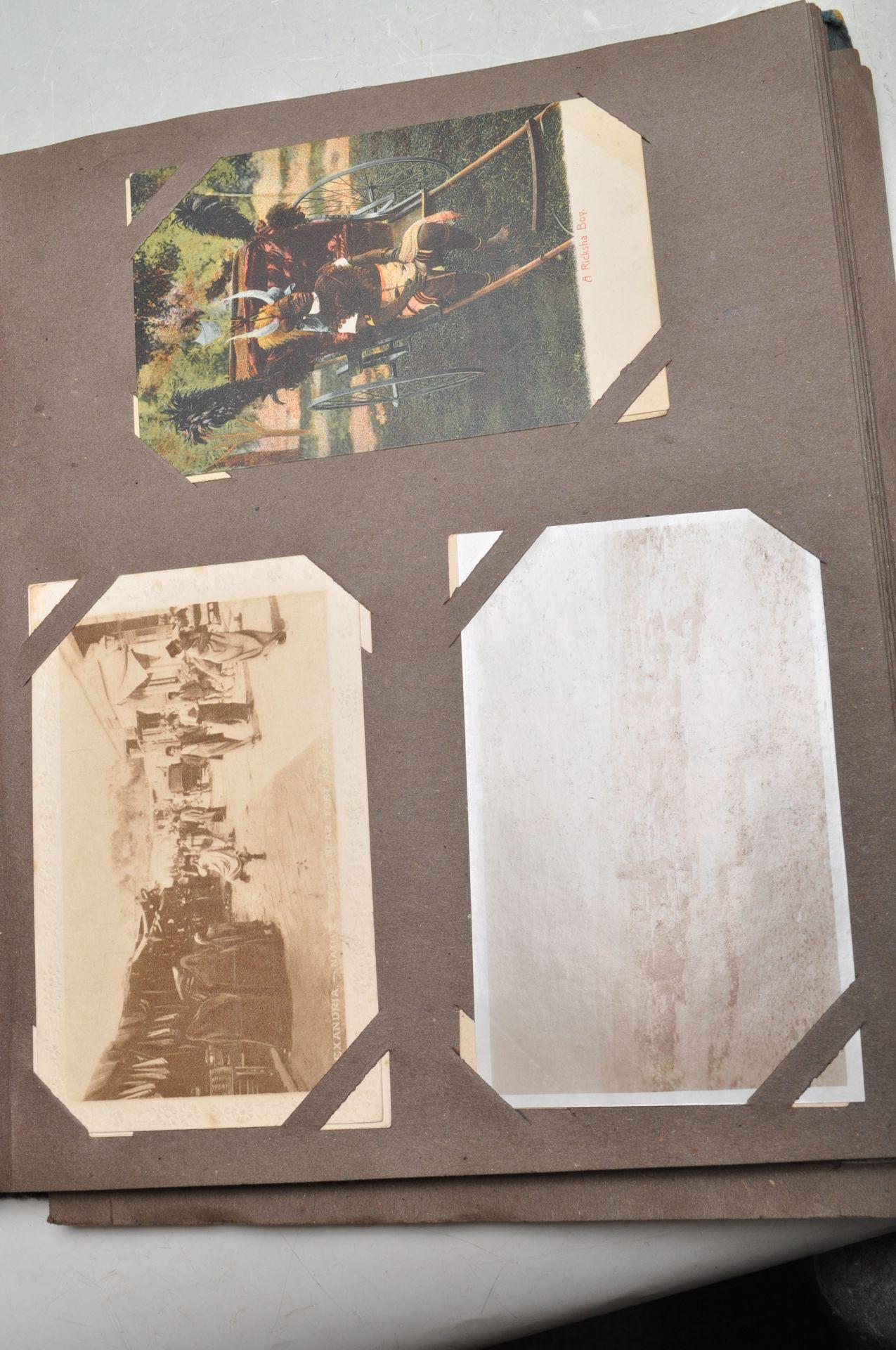 ALBUM OF FOREIGN POSTCARDS - ALL CIRCA WW1 PERIOD - Bild 21 aus 23