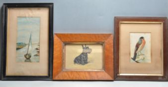 COLLECTION OF THREE EARLY 20TH CENTURY PAINTINGS