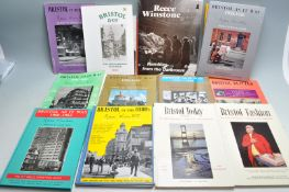 COLLECTION OF REECE WINSTONE BOOKS