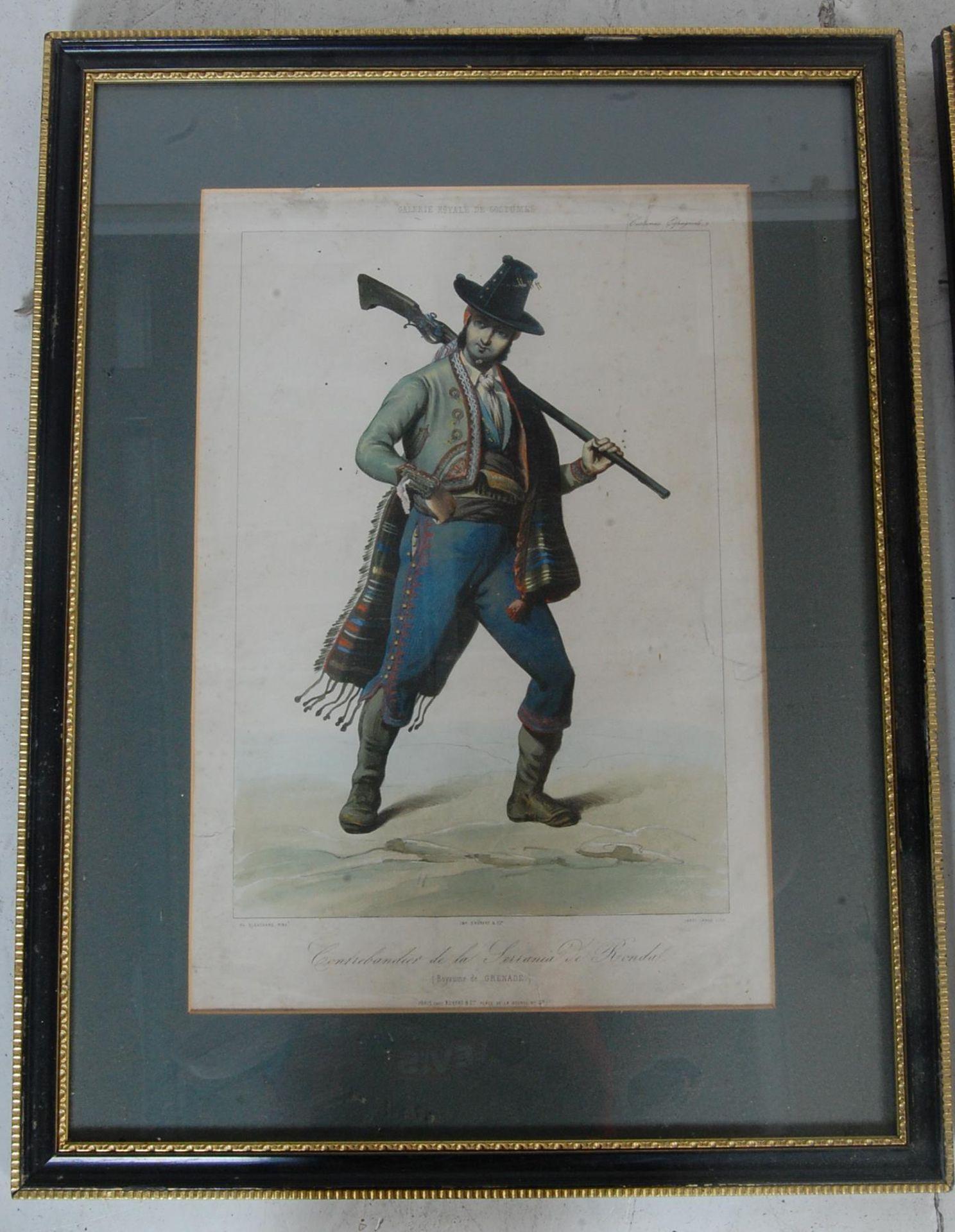 ANTIQUE 19TH CENTURY LITHOGRAPHS PEINTS / ETCHING PLATES - Bild 2 aus 16