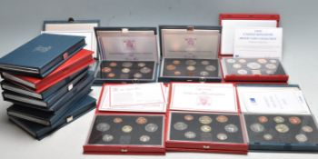 FOURTEEN 1980'S AND 1990'S UNITED KINGDOM COIN SETS