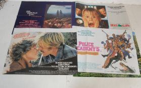 COLLECTION OF VINTAGE MOVIE POSTERS - HOME ALONE ETC